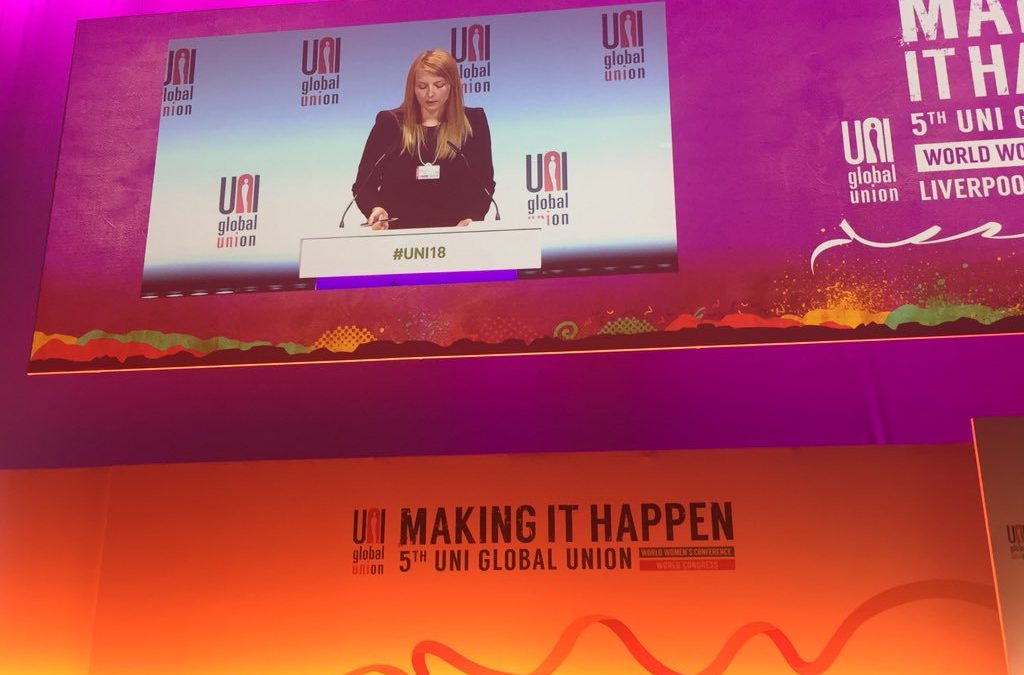 'Making It Happen' with UNI Global Union