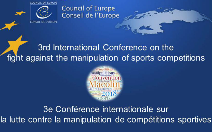 3rd International Conference on the fight against the manipulation of sports competitions