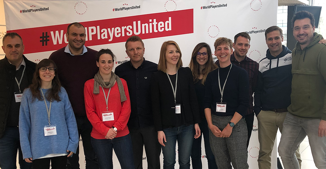 EU Athletes at the World Players Development Conference