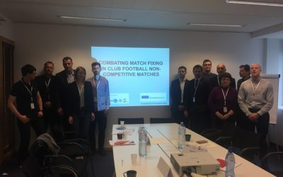 Official Launch of the new project – Combating Match Fixing in Club Football Non-Competitive Matches